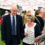 Perth Show…05.08.16 John Swinney MSP visited the show Picture by Graeme Hart. Copyright Perthshire Picture Agency Tel: 01738 623350  Mobile: 07990 594431