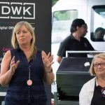 Perthshire On A Plate….05.08.16  Business breakfast…Fiona Walker of sponsors DWK Picture by Graeme Hart. Copyright Perthshire Picture Agency Tel: 01738 623350  Mobile: 07990 594431
