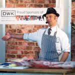 Perthshire On A Plate….05.08.16  Butchery Demo by Beaton Lindsay Picture by Graeme Hart. Copyright Perthshire Picture Agency Tel: 01738 623350  Mobile: 07990 594431