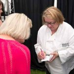 Perthshire On A Plate….05.08.16  Celebrity chef Rosemary Shrager signs autographs Picture by Graeme Hart. Copyright Perthshire Picture Agency Tel: 01738 623350  Mobile: 07990 594431